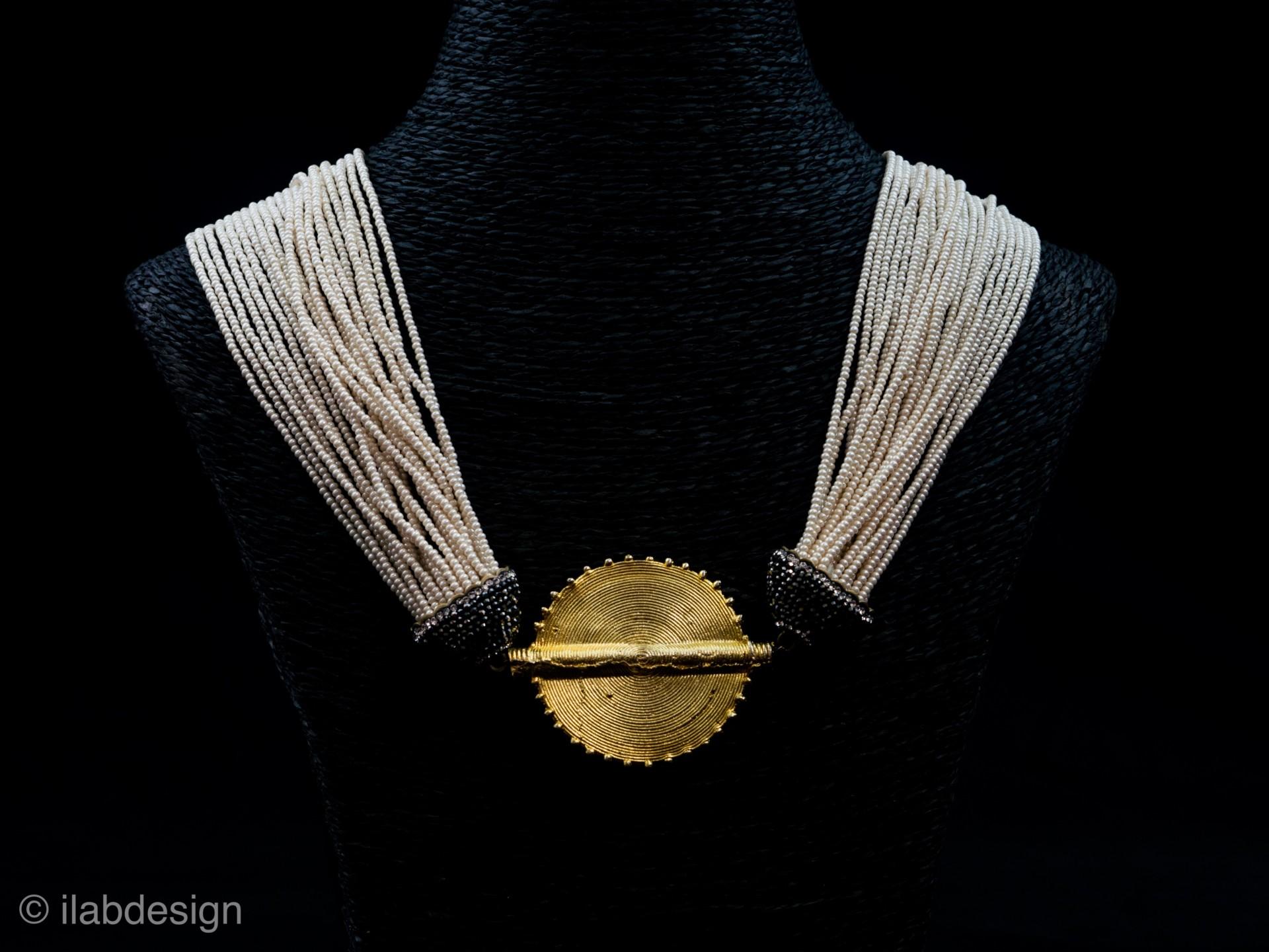 collier perle cote d'ivoire